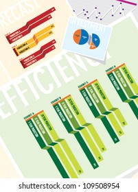 Business Charts: Efficiency