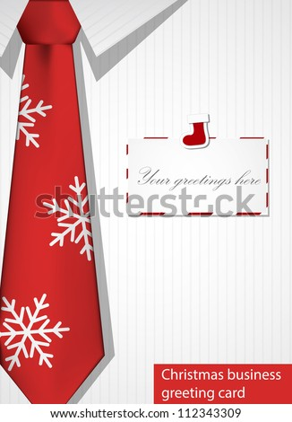 Business christmas greeting card eps 10 vector stock vector royalty business christmas greeting card eps10 vector m4hsunfo