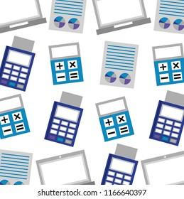 business commerce dataphone calculator report pattern