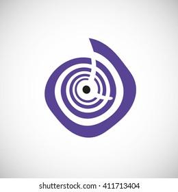 Business Company Logo Template. Vector