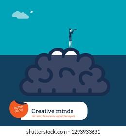 Business concept illustration - vector