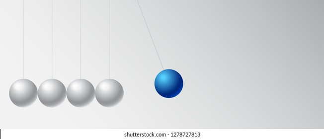 business concept leadership for the organization and company,copy space with momentum icon isolated on white background