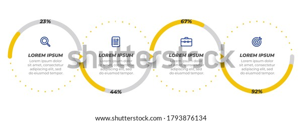 Business Concept Marketing Icons Design Elements Stock ...
