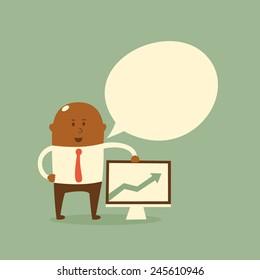 Business concept - presentation