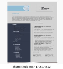 Business Corporate creative resume design