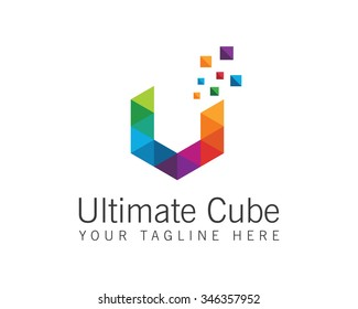 Business corporate letter V logo design vector. Colorful letter V logo vector template. Letter V logo for technology.