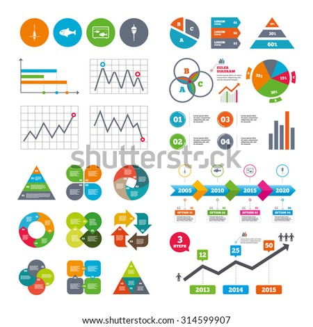 business data pie charts graphs 450w 314599907 business data pie charts graphs fishing stock vector (royalty free