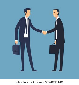 Business Deal Vector Illustration