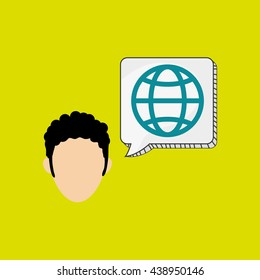 Business design. Financial item icon. Flat illustration