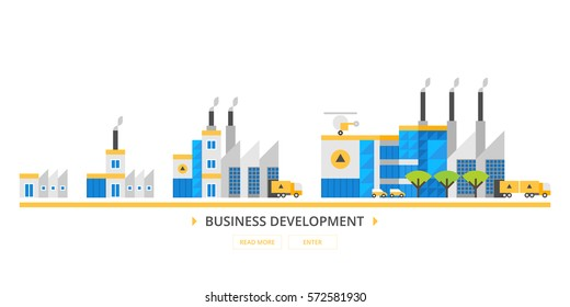 Business development. Production Development Strategy. The increase in production capacity