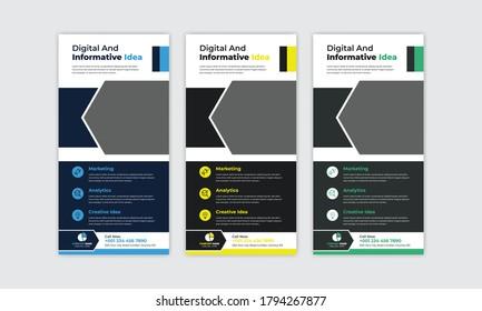 Business DL Flyer, Business Rack Card