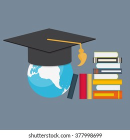 Business Education Concept. Trends and innovation in education. Vector Illustration EPS10