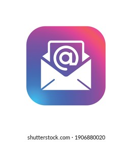 Business Email - App Icon Button