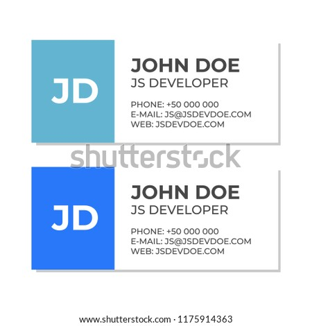 Business email signature template email contact stock vector business e mail signature template email contact vector template maxwellsz