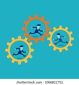 Business Engine. Business concept illustration.