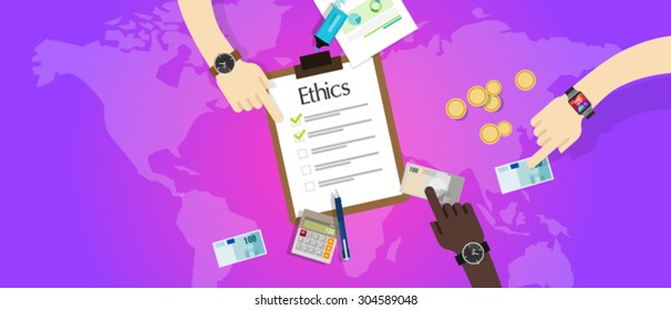 business ethics ethical code moral and integrity