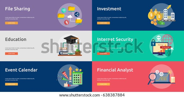 Business and Finance Conceptual Banner Design