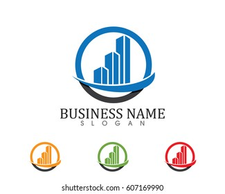 Business finance logo