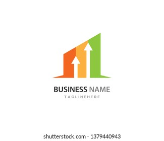 Business Finance professional logo template vector