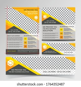 Business flyer and banner templates