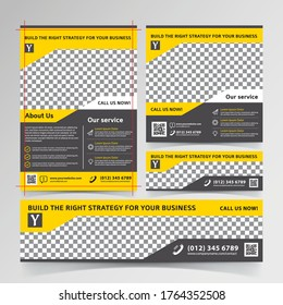 Business flyer, social media, and banner templates