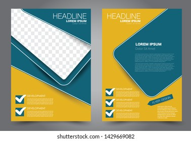 School Magazine Cover Design Images Stock Photos Vectors
