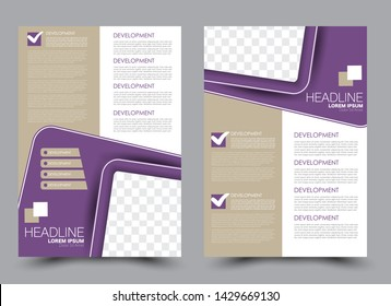 A4 Template Images, Stock Photos & Vectors | Shutterstock