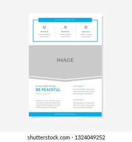 Business Flyer Vector Template Design Cover Modern Layout Print Poster