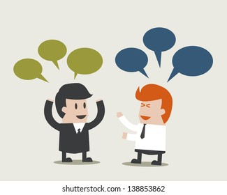 Business form a Speech communication