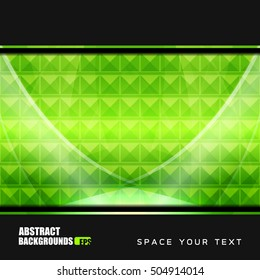 Business Geometric Abstract Backgrounds, vector illustration