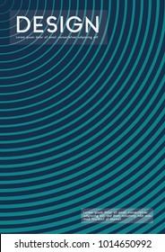 Business  Geometric Halftone covers minimal desgn Vector Illustration.
