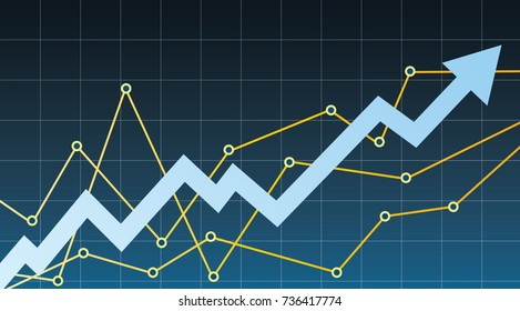 Business graph and chart