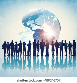 Business Group. Concept business illustration.
