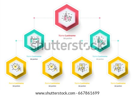 Business hierarchy organogram chart infographics corporate stock business hierarchy organogram chart infographics corporate organizational structure graphic elements company organization branches template friedricerecipe Images