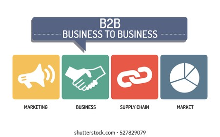BUSINESS TO BUSINESS - ICON SET