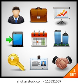 business icons - set 2
