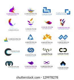 Business Icons Set - Isolated On White Background - Vector Illustration, Graphic Design Editable For Your Design. Business Logo Flat Collection