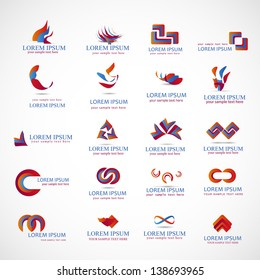 Business Icons - Set - Isolated On Background - Vector Illustration, Graphic Design Editable For Your Design. Logo Elements