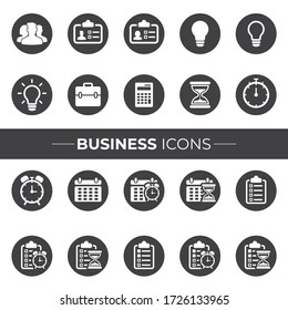 Business Icons that can be used in your Websites, Flyers, Posters, or in your Infographics.