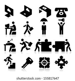 Business Icons three