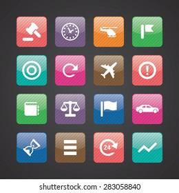 Business icons universal set for web and mobile