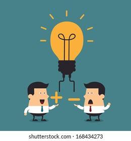 Business ideas discussion, Business concept