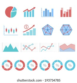 business Infographic icon set