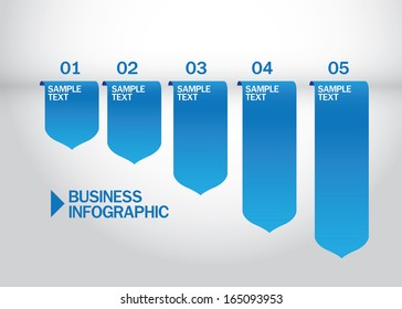 business infographic template design vector