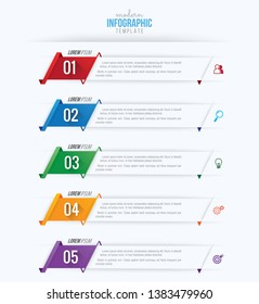 Business infographics design vector and marketing icon, workflow layout, diagram, web design