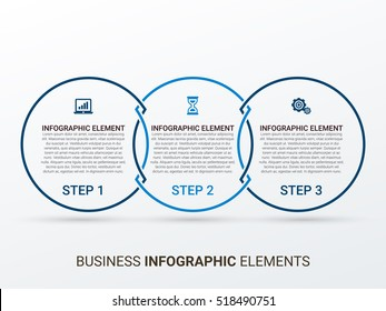 Business Infographics style Vector illustration. can be used for workflow layout, banner, diagram, number options, step up options, web design.