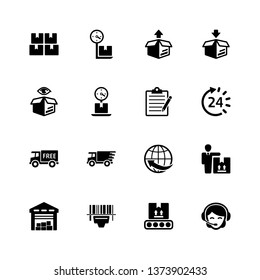 Business Logistics Icons - Set 2