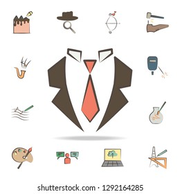 business man tools icon. Detailed set of tools of various profession icons. Premium graphic design. One of the collection icons for websites, web design, mobile app