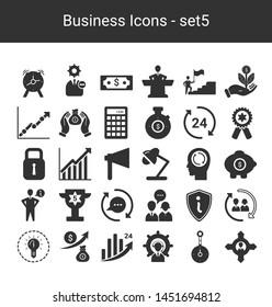 Business Management Icons - Set 5