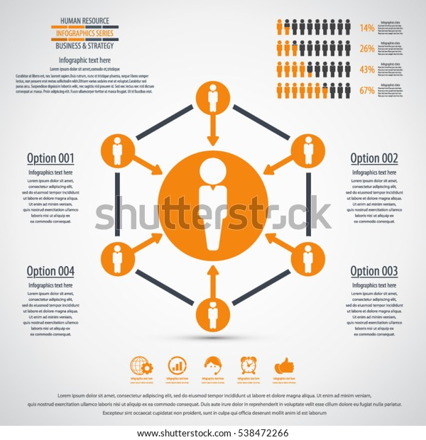Business Management Strategy Human Resources Infographic